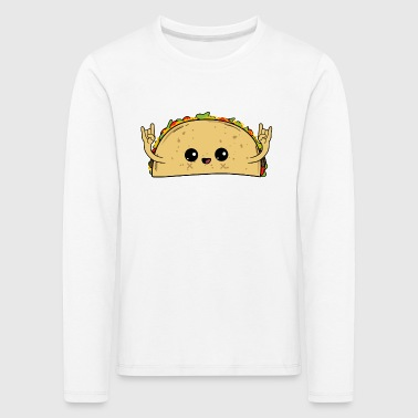 Tacos Rock - Mexikanisches Essen - Cinco de Mayo - Kids' Premium Longsleeve Shirt