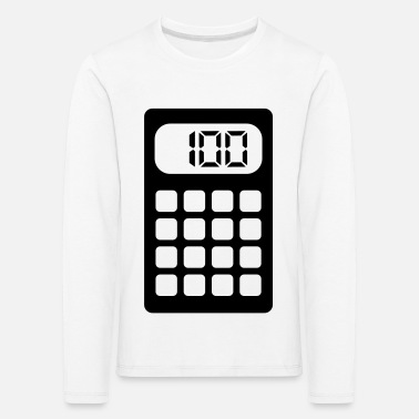Calculator Calculator - Kids' Premium Longsleeve Shirt