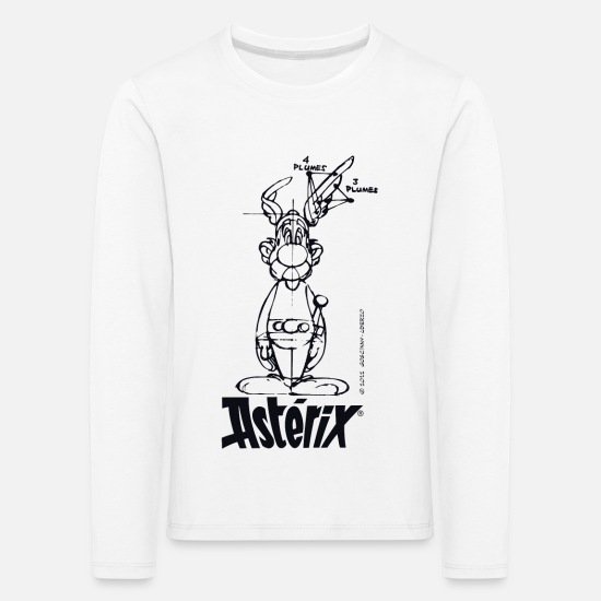 Elixir Long Sleeve Shirts - Asterix & Obelix - Asterix model - Kids' Premium Longsleeve Shirt white