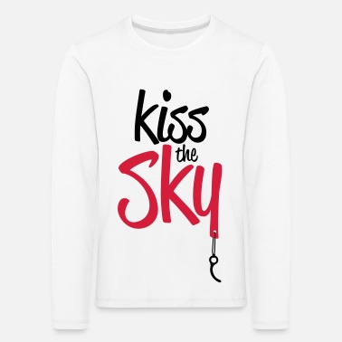 Kiss the Sky - T-shirt manches longues premium Enfant