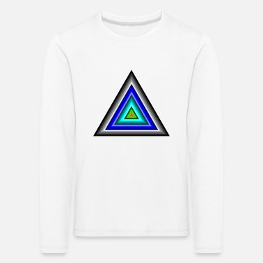 Triangle Triangles en triangle - T-shirt manches longues premium Enfant