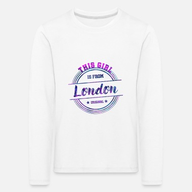 London London United Kingdom Great Britain UK - Kids' Premium Longsleeve Shirt