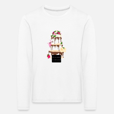 wedding cake - Kids' Premium Longsleeve Shirt