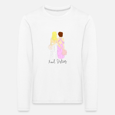 Bride and bridesmaid - Kids' Premium Longsleeve Shirt