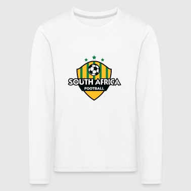 Football emblem of South Africa - Kids' Premium Longsleeve Shirt