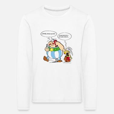 Asterix & Obelix speach bubbles - Kids' Premium Longsleeve Shirt