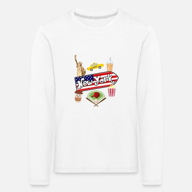 I Love New York I love New York - T-shirt manches longues Premium Enfant