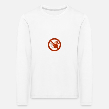 Caution sign - Kids' Premium Longsleeve Shirt
