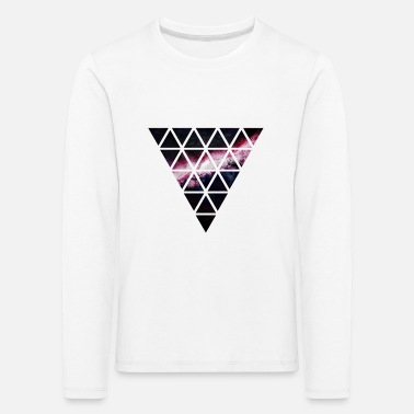 Triangle triangle of triangles galaxy - Kids' Premium Longsleeve Shirt