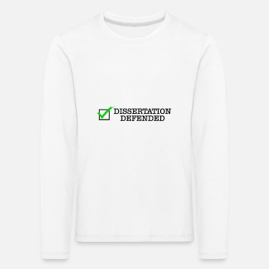 Final Thesis Final thesis Phd doctor saying gift - Kids' Premium Longsleeve Shirt