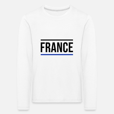 Paris France Europe Paris French Tour Eiffel - Kids' Premium Longsleeve Shirt