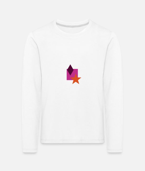 Hipster Long-Sleeved Shirts - Hip Style - Kids' Premium Longsleeve Shirt white