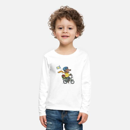 Kindergarten Long sleeve shirts - Dad and Jan / kidscontes - Kids' Premium Longsleeve Shirt white