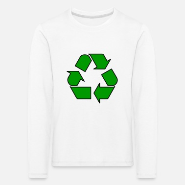 Enviromental Recycle - Kids' Premium Longsleeve Shirt