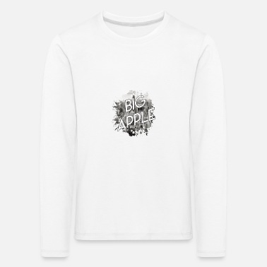 Big Apple Manhattan NYC New York - Kids' Premium Longsleeve Shirt