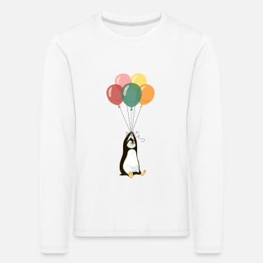 Pinguin Flying Pinguin - Kinder Premium Langarmshirt