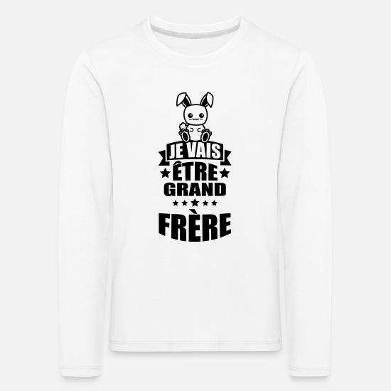 """Personnalisé /""""Je vais être un grand frère/"""" T-Shirt Top Tee Enfants"""