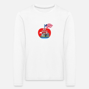 Big Apple Big apple - Kids' Premium Longsleeve Shirt