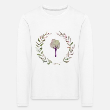Watercolor Watercolor - Kids' Premium Longsleeve Shirt