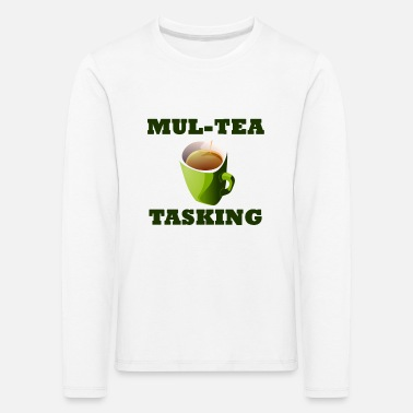 Colour Mul-Tea Tasking - Kids' Premium Longsleeve Shirt
