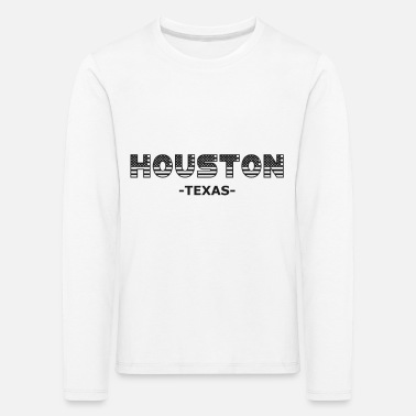 Texas Houston Texas Amerika USA Staat uni austausch - Kinder Premium Langarmshirt