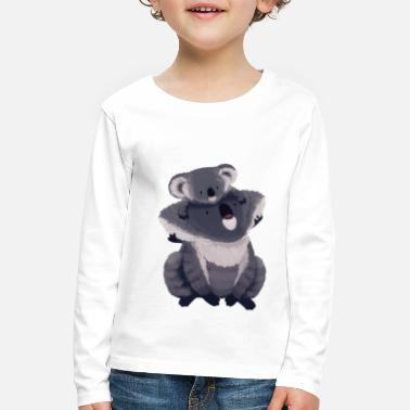 Illustration Koala illustration - Premium langærmet T-shirt til børn