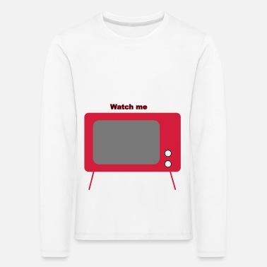 Television old television - Kids' Premium Longsleeve Shirt