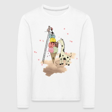 Wildlife Icecream - Kinder Premium Langarmshirt