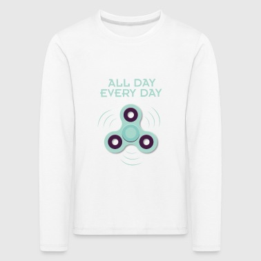 Spinner - all day, every day - Kinder Premium Langarmshirt