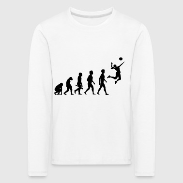 Volleyball Player Volleyball Player Evolution - Premium langermet T-skjorte for barn