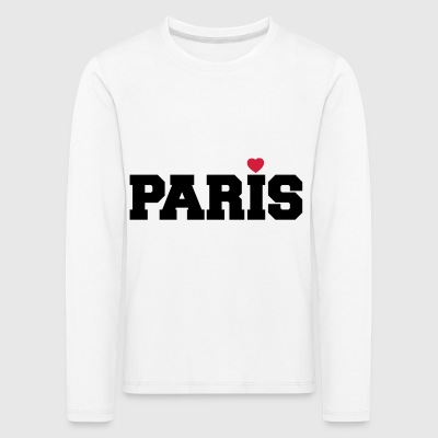 Paris with Love - Kinder Premium Langarmshirt