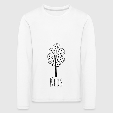 gift for children who love nature sw - Kinder Premium Langarmshirt