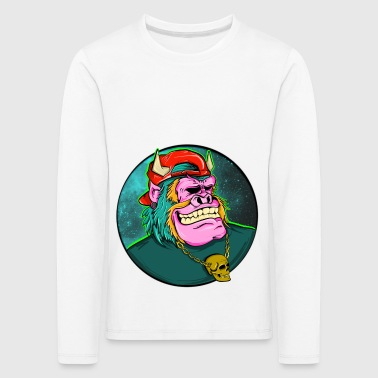 MONSTER - Kinder Premium Langarmshirt