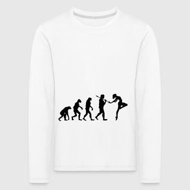 Evolution ballet dancer gift dance sport - Kids' Premium Longsleeve Shirt