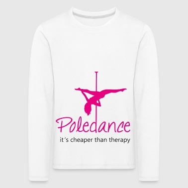 Pole Dance - Kids' Premium Longsleeve Shirt