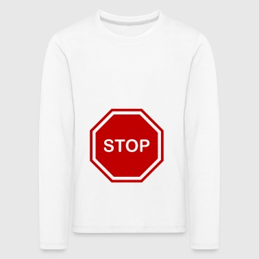 stop sign - Kids' Premium Longsleeve Shirt