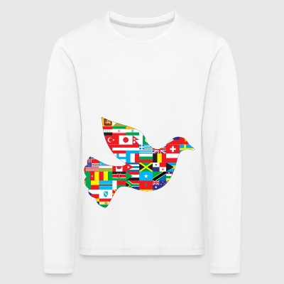 Dove without borders - Kids' Premium Longsleeve Shirt