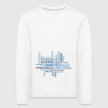 diabetes - Kids' Premium Longsleeve Shirt