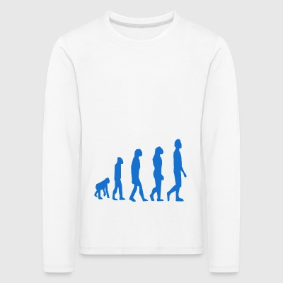 Evolution - Kinder Premium Langarmshirt