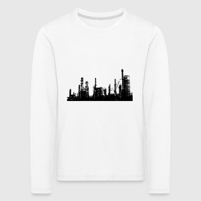 Oil refinery - Kids' Premium Longsleeve Shirt