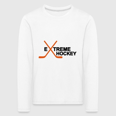 2541614 12661153 hockey - Premium langermet T-skjorte for barn