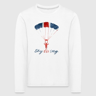 Skydiving #UK - Kinder Premium Langarmshirt