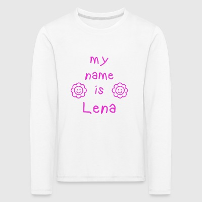 LENA MY NAME IS - T-shirt manches longues Premium Enfant