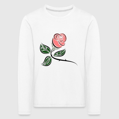 rose - Kids' Premium Longsleeve Shirt