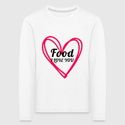 food - Kids' Premium Longsleeve Shirt