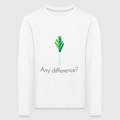 Lauch: Any difference? [Black Edition] - Kids' Premium Longsleeve Shirt