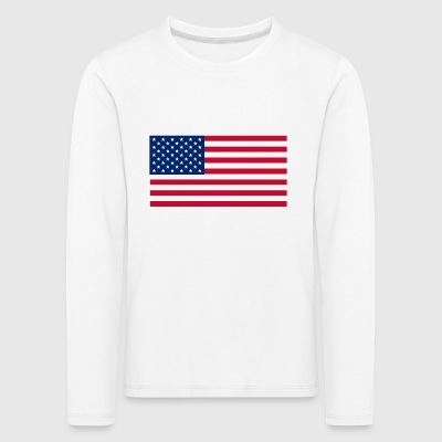 USA - Kids' Premium Longsleeve Shirt