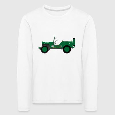 Army vehicle - Kids' Premium Longsleeve Shirt