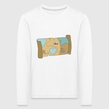 treasure map - Kids' Premium Longsleeve Shirt