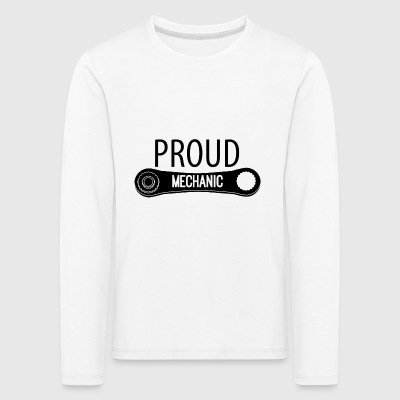 Mechanic: Proud Mechanic - Kids' Premium Longsleeve Shirt